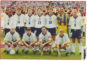 England squad that came so close at Euro 96