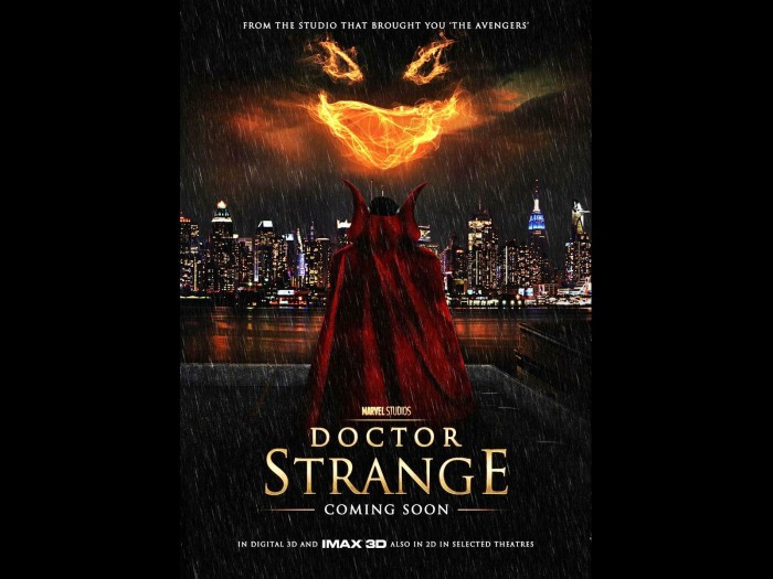 Doctor Strange Marvel Movie Wallpapers Widescreen Cinema: First Look At Benedict Cumberbatch As Marvel's Doctor